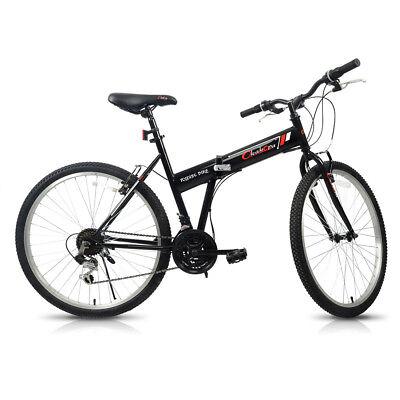 bicycles shimano gear Force Recon Gear 26 mountain bike folding bicycle 21 speeds hybrid sport shimano gear foldable
