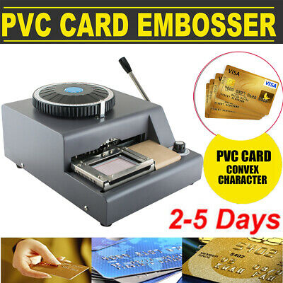 72-character Letters Manual Embosser Credit Id Pvc Card Vip Embossing Machine Ce