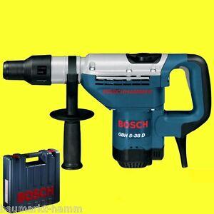BOSCH Bohrhammer GBH 5-38 D SDS Max wie 5-40 4-32 Stemmhammer GSH 5