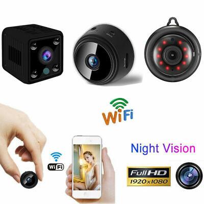 Mini IP Camera Wireless WiFi HD 1080P Hidden Home Security Cam Night Vision USA
