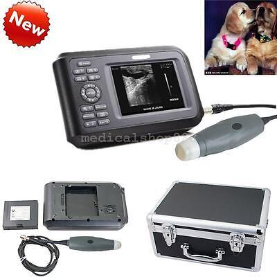 Handheld Ultrasound Scanner Machine Animal Probetransducer Carry Box Us Fda