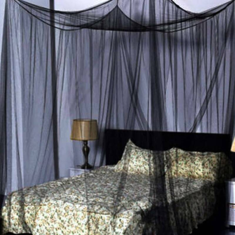 Weiß XXL Zimmer Outdoor Moskitonetz Mückennetz Fliegennetz Moskito Netz Square