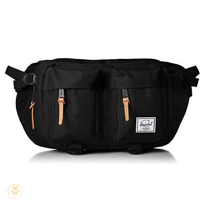 Herschel Hip Waist Fanny Travel Pack - Black - Supply Co Eighteen Unisex Day Bag