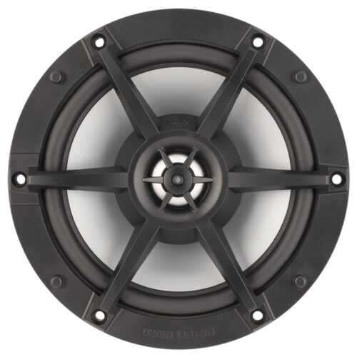 "Polk 6.6"" Waterproof Marine Speakers 150 W Pair Coaxial Flush Mount Ultramarine"