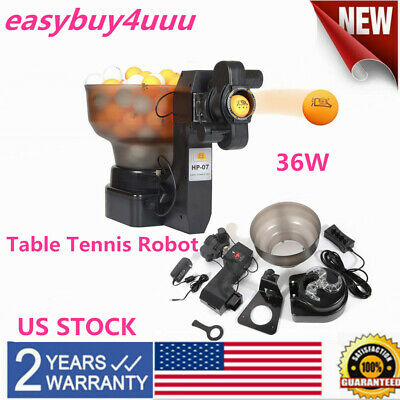 HP-07 Ping Pong/Table Tennis Robot Automatic Ball Machine expert best seller