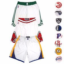 NBA Adidas Authentic On-Court Team Issued Home Pro Cut Game Shorts Men