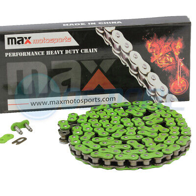 Green 520 Chain 98 Links Non O-Ring Drive Chain ATV Motorcycle MX 520 Pitch