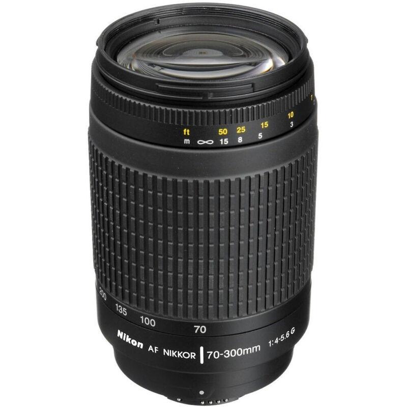 Nikon 70-300mm F/4-5.6G AF DX Zoom-Nikkor Lens - FACTORY REFURBISHED