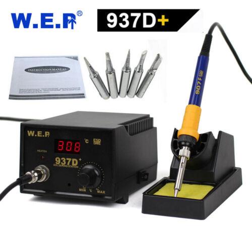 WEP937D+ saldatura saldatore Stazione di rilavorazione pistola ad aria calda 60W