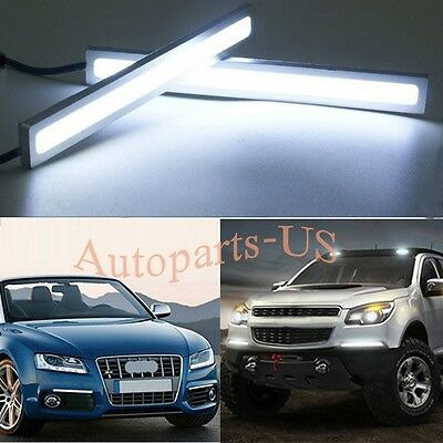 Led fog light stripebay 1 2x bright white 100 led strip daytime running light drl car fog day driving lamp mozeypictures Choice Image