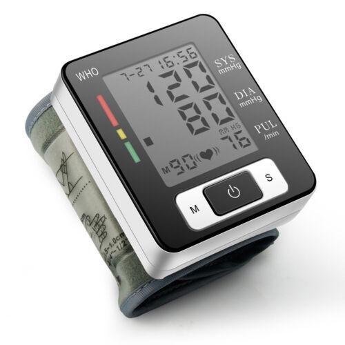 English Pulse Sphygmomanometer Presure Blood Monitor BP Puls