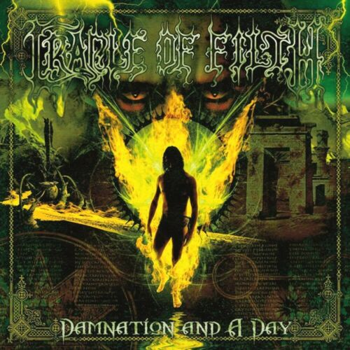 Cradle Of Filth Damnation And A Day 12x12 Album Cover Replica Poster Print