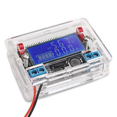 Dc-dc Adjustable Buck Converter Stabilizer Step Down Voltage Reducer W Diy Case