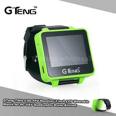 Gteng T909 5 8G Fpv 32Ch Receiver Lcd Wearable Watch For Rc Drone Usa Sale C9u9