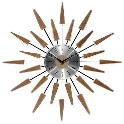 Satellite 23 Mid-Century Modern Vintage Wall Clock