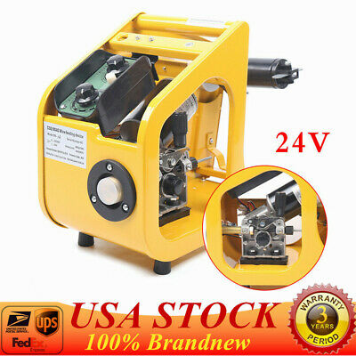 24v Single Drive Welding Machine Carbon Dioxide Gas Shielded Wire Feeder Yellow
