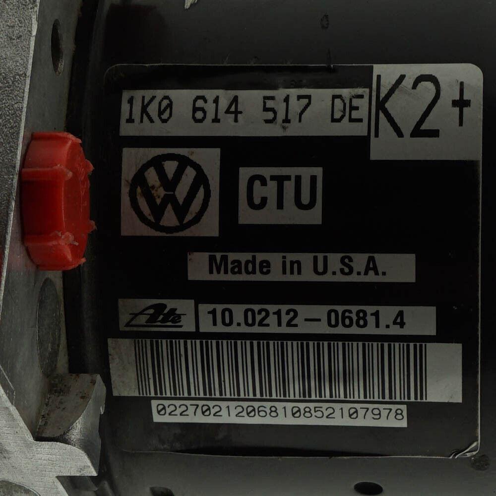 ABS 1K0614517DE 10021206814 1K0907379BJ 10096103523 AUDI VW 24 Monate Garantie