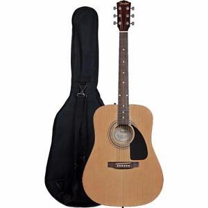 Fender acoustique avec sac de transport 0950816021 FA100 DÉSTOCKAGE