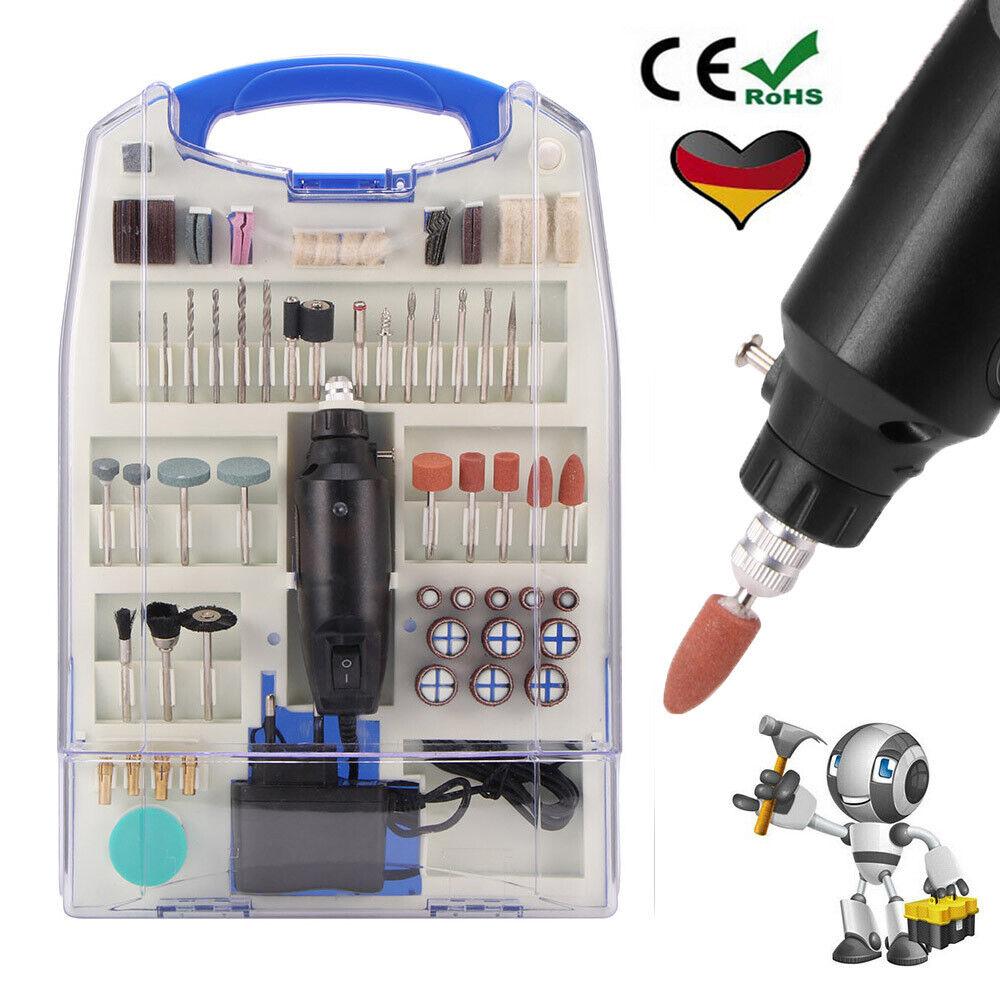 110-tlg Mini Schleifer Bohrmaschine Drill-Power Minischleifer, Kleinbohrmaschine