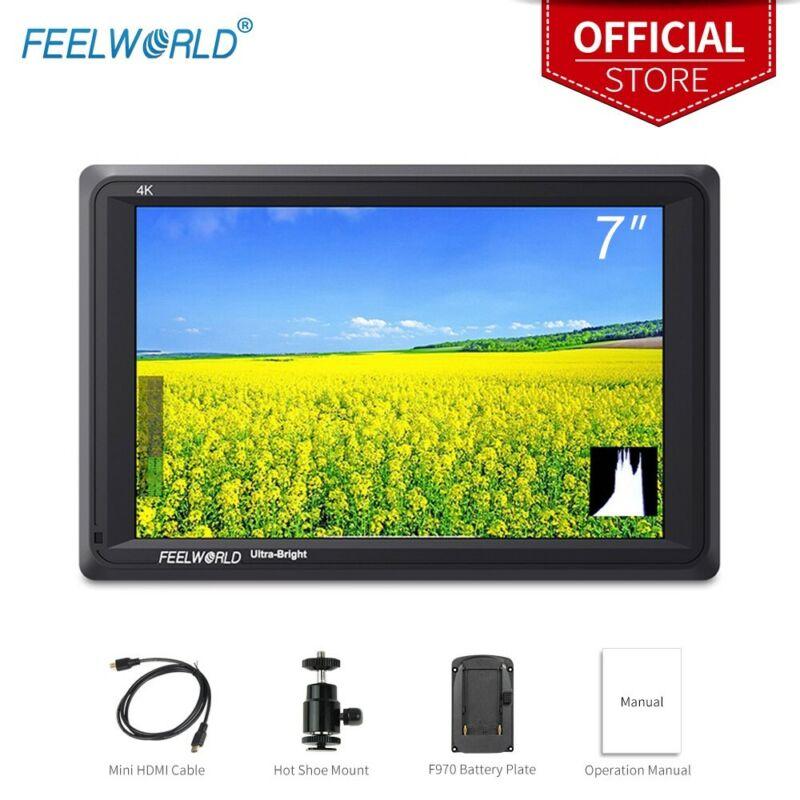 FEELWORLD Ultra Bright Camera Field Monitor 2200nits 4K HDMI Full HD LCD Display