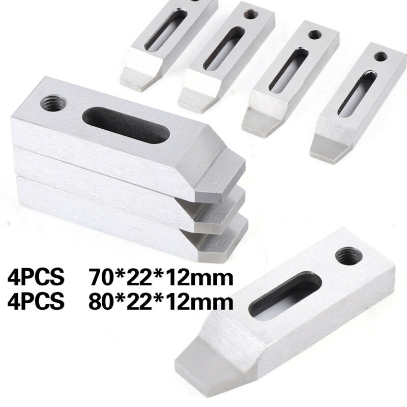Wire EDM Fixture Board Stainless Jig Tool Clamping & Leveling 80*22*12-M8 USA