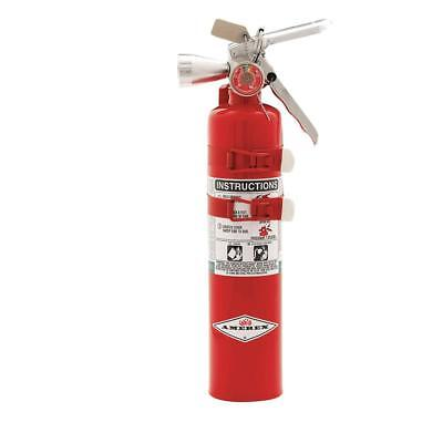 Halotron Fire Extinguisher With 2.5 Lb. Capacity And 9 Sec. Discharge Time