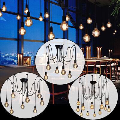 Retro Vintage Decken-Leuchte Edison Pendelleuchte Hänge-Lampe Industrie Design (Edison Lampe Leuchte)