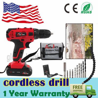 - Powerful Cordless Drill Driver  Electric Driver Set Tool Repair Set 18v 20v max