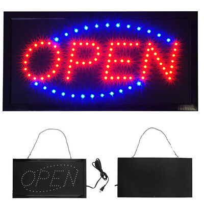 2019 Ultra Bright Animated LED Light Open Business Bar Store Window Sign neon (Led Light Sign Led)