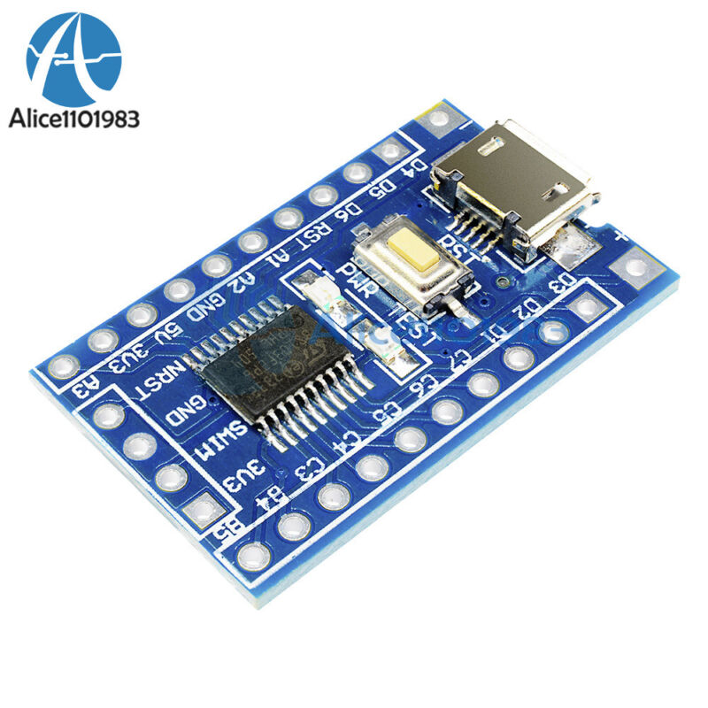 5pcs Minimum System Development Board Module Arm Stm8s103f3p6 Stm8 For Arduino