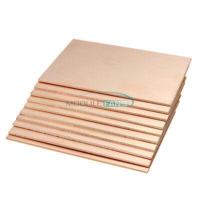 10pcs 7x10cm Single Side Pcb Copper Clad Plate Diy Pcb Laminate Circuit Board