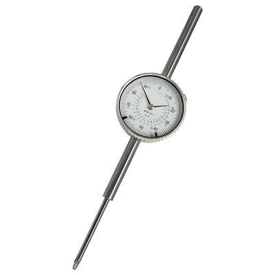 0-2 Inch Dial Indicator Travel Dial Indicator .001 Grad Lathe Precision Tool