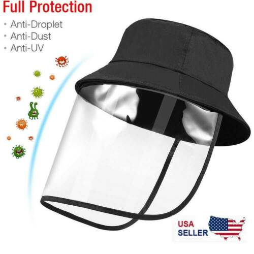 Face Shield Reusable Mask Washable Protection Cover Anti-Splash Safety Work HAT