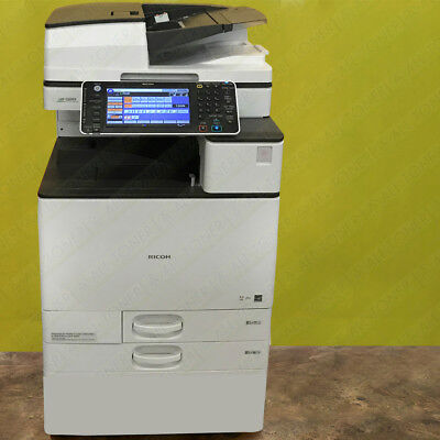 Ricoh Aficio Mp C6003 Color Tabloid Copier Printer Scanner All-in-one 60ppm