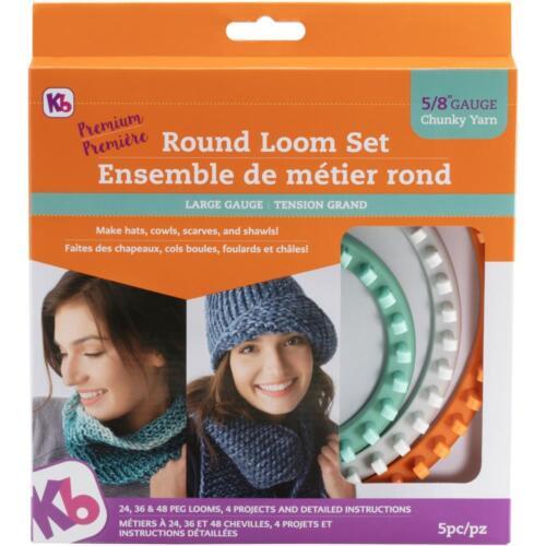 Knitting Board Chunky Round Loom 3/Pkg KB8150