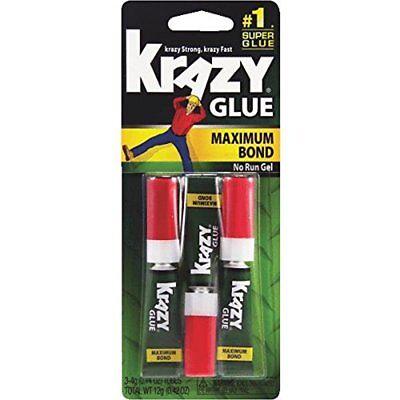 Elmers Prod. Krazy Glue Maximum Bond Super Glue Gel