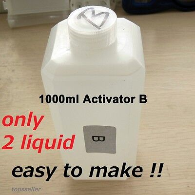 """Formula for water-transfer printing activator """"dipping activator""""r 2 liquid only"""