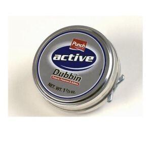 Punch Dubbin Neutral 50ml Tin Waterproofs Leather Shoe & Boot Wax