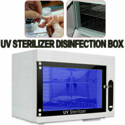 Dry Sterilizer Cabinet Autoclave Magnifier Tattoo Disinfect Salon Nail Tool 6w