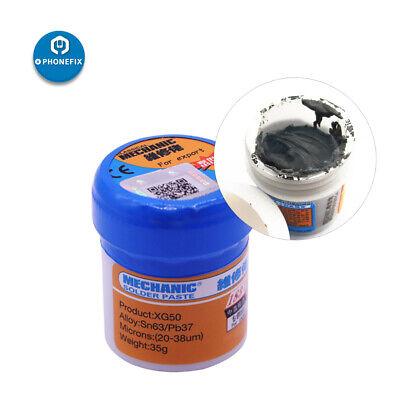 Mechanic Solder Paste Xg-50 Sn63pb37 Solder Paste Flux For Phone Pcb Repair