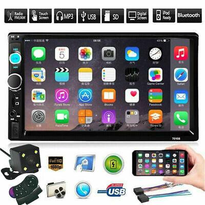 "7"" Inch Car Stereo Radio HD Mp5 Player Touch Screen Bluetooth Radio 2Din&Camera"
