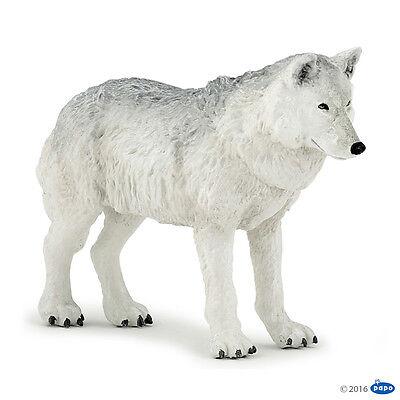 Polarwolf 10  cm Wildtiere Papo 50195                               NEUHEIT 2016