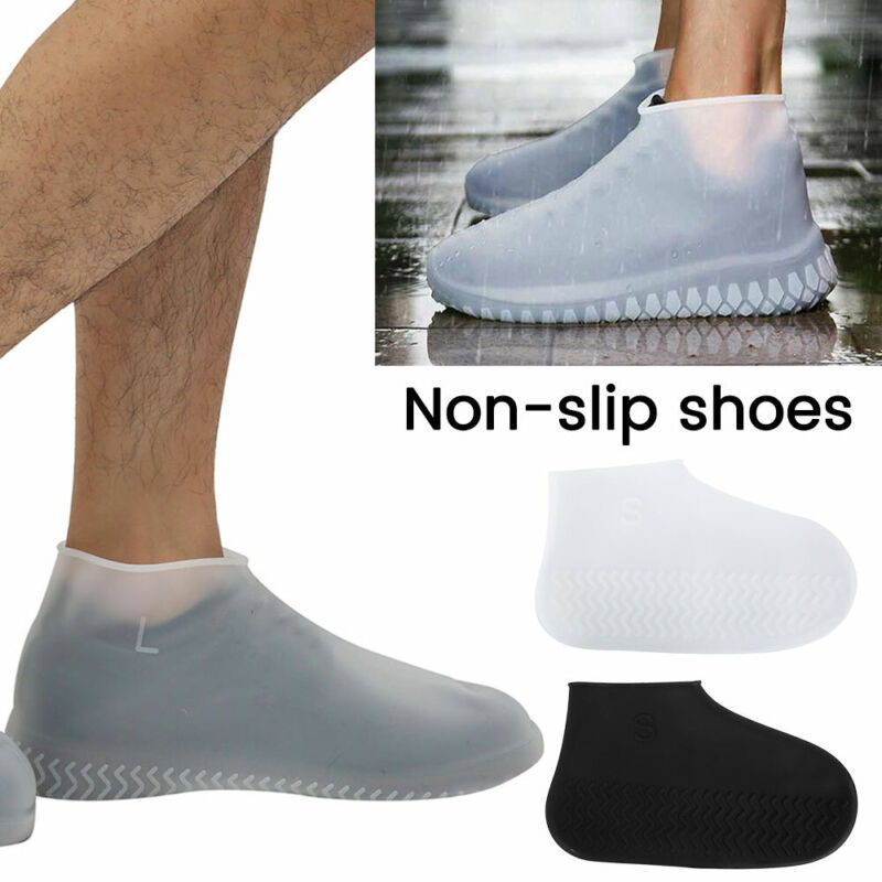 Waterproof Overshoes Non-slip Silicone Reusable Shoe Covers
