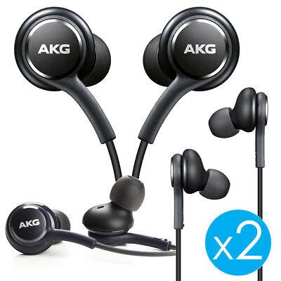 2x ORIGINAL Samsung Galaxy S8 S8+ Note 8 AKG EarBuds Headphones Headset EO-IG955