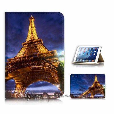 ( For iPad Mini Gen 1 2 3 ) Case Cover P21054 Eiffel Tower Paris (Ipad Mini 3 Cover Paris)