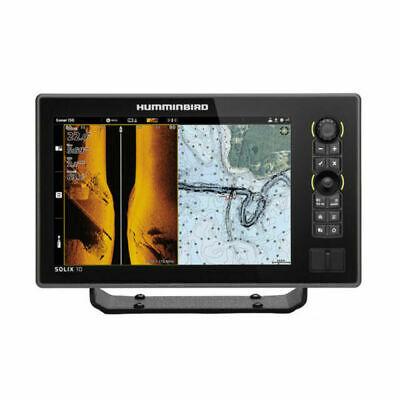 Humminbird SOLIX10 CHIRP MEGA SI Fishfinder/GPS Combo G2 w/Transom Mount Tran...