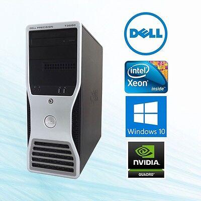 Dell Precision T5500 Workstation Xeon 8 Core 3.06Ghz 24GB 2TB+250G SSD Win10 Pro