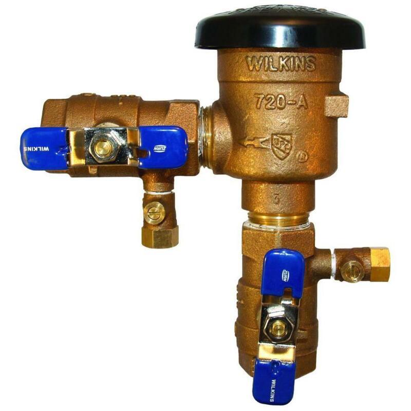 Zurn 1/2 in. Brass Pressure Vacuum Breaker 12-720A