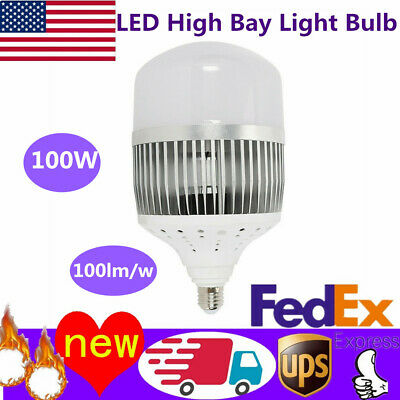 100w Led High Bay Light Bright White Bulb Lamp Lighting Fixture Factory Industry