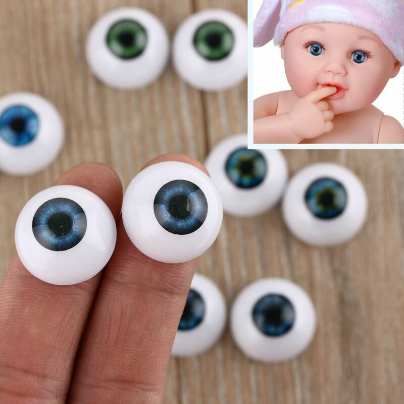 Dolls Eyes 3 Pairs Baby Blue 22mm Acrylic Glass USA Marie-Mischell Action